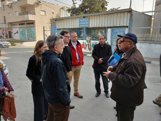 MPs meet representatives of UNRWA in Aida refugee camp