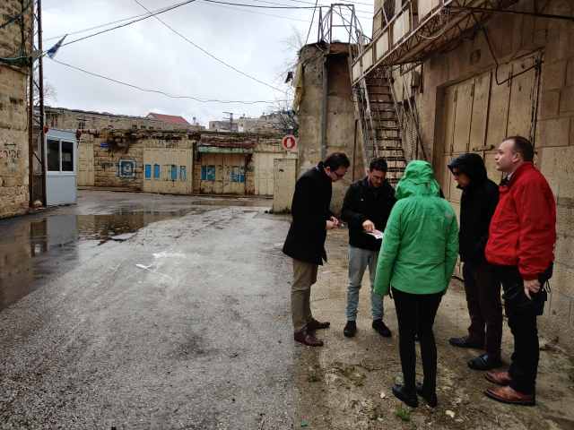 With Breaking the Silence on Shuhada Street in Hebron