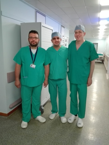 Palestinian medics travel to UK for breast cancer training