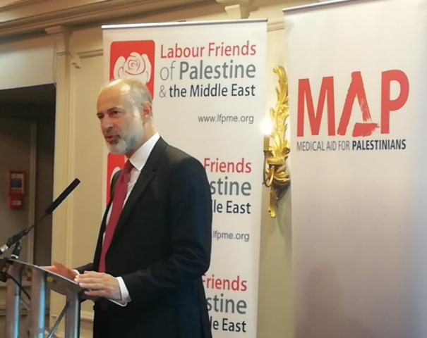 Fabian Hamilton MP, Shadow Minister for Peace and Disarmament