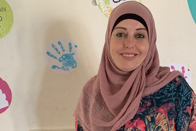 Leen, a breast cancer survivor from Beit Rima, Northwest Ramallah