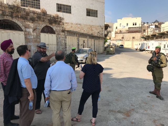 Witnessing barriers to Palestinians' health and dignity in the Old City of Hebron