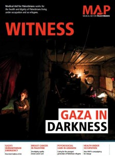 Gaza in darkness